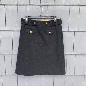 J. Crew virgin wool skirt